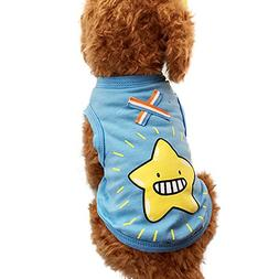 WEUIE Clearance Sale Colorful Cute Pet Vest Clothing Small P