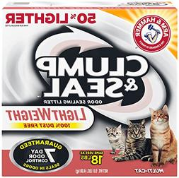 Arm & Hammer Clump & Seal Light Weight Multi-Cat Odor-Sealin