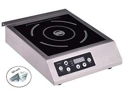 1800W Commercial Electric Induction Cooker Single Burner Coo