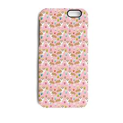 SJSNBZ Corgi Dog With Milky Tea Iphone7 iphone8 Cool Funny T