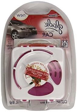 Glade Décor Scents Car Starter Air Fresheners, Red Honeysuc