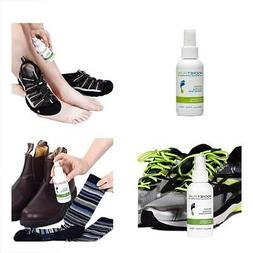 Natural Mint Shoe Deodorizer, Foot Deodorant Spray. Fights O