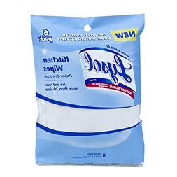 Lysol Durable Kitchen Wipes, 6 Pack