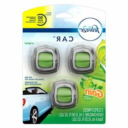 Febreze Car Vent Clip Air Freshener, Eliminate Odors, Up to