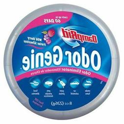 DampRid FG69H Odor Genie Eliminator Gel Wild Berry 8-oz Boat