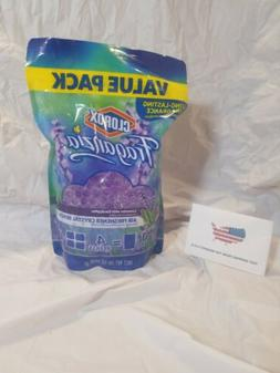 Clorox Fraganzia Air Freshener Crystal Beads Refill Pouch in