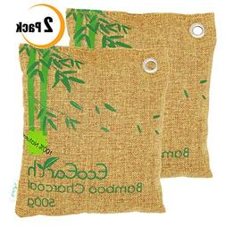 EcoEarth Nature Fresh air Purifier Bags for Home  , Charcoal