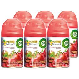 Air Wick Freshmatic 6 Refills Automatic Spray, Apple Cinnamo