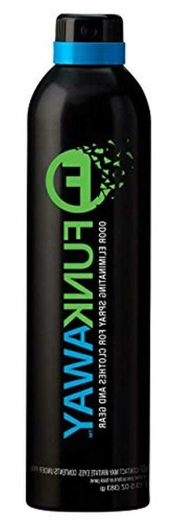 FunkAway Odor Eliminator Spray for Clothes, Shoes and Gear