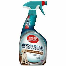 Simple Solution Hard Floor Pet Stain and Odor Remover | Dual