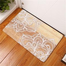 CarPet Homing Durable Commercial Door Mats Flannel Rainbow C