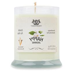 Jasmine Aromatherapy Deodorizing Soy Candle For Pets, Candle