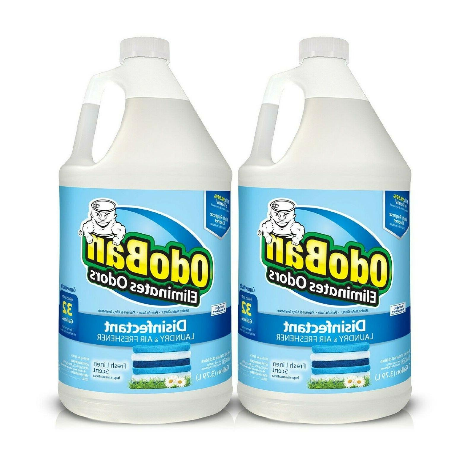 2 1 gallon fabric and uphlostery odor