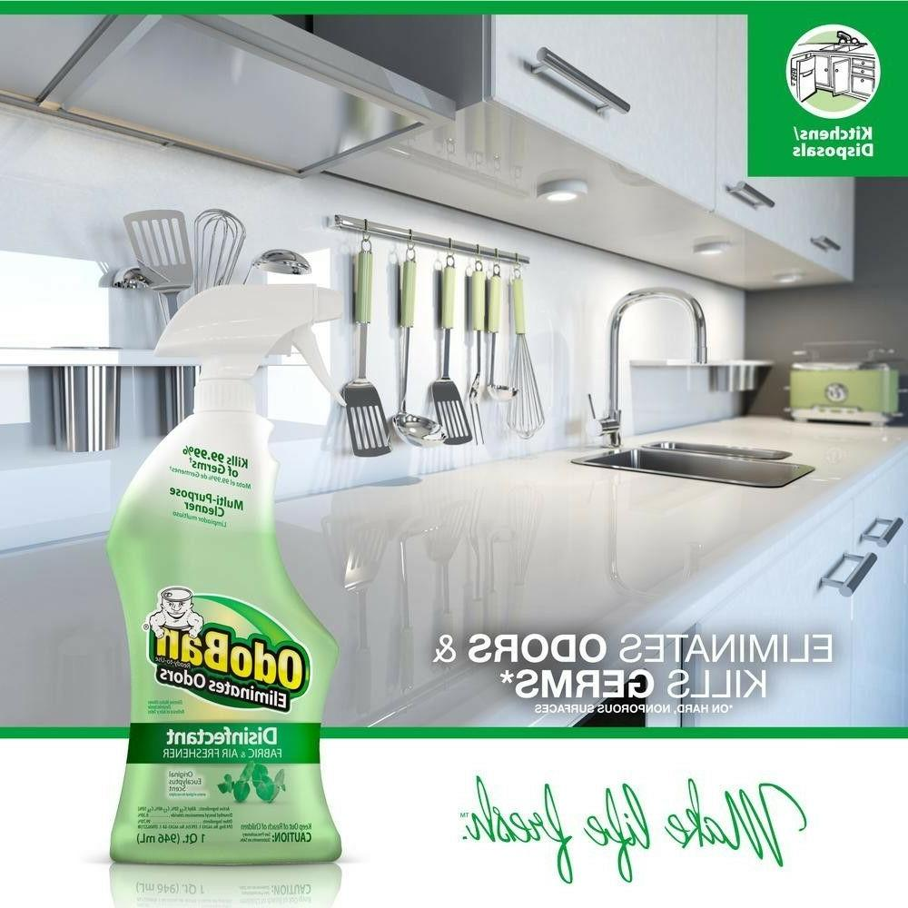 OdoBan OZ Ready-to-Use Disinfectant and Air Freshener