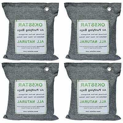 4 x 500G Purifying Activated Bamboo Charcoal