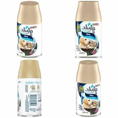 Automatic Spray Air Freshener Refill, Pet Clean Scent, 6.2 O