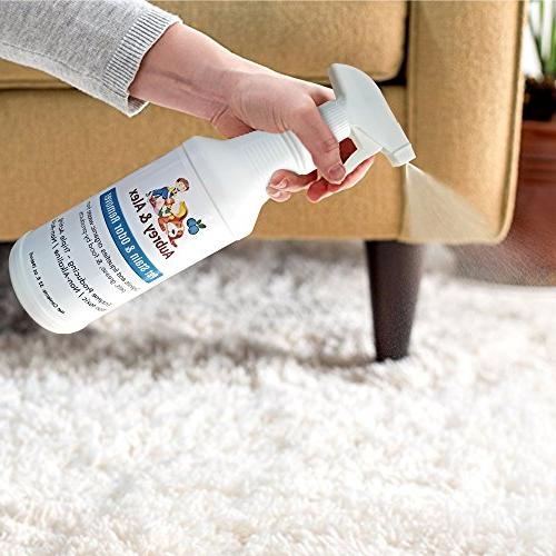 Best Pet Stain Odor | Strength & Eliminates Dog, Cat, & Urine and on Furniture Non-Toxic |