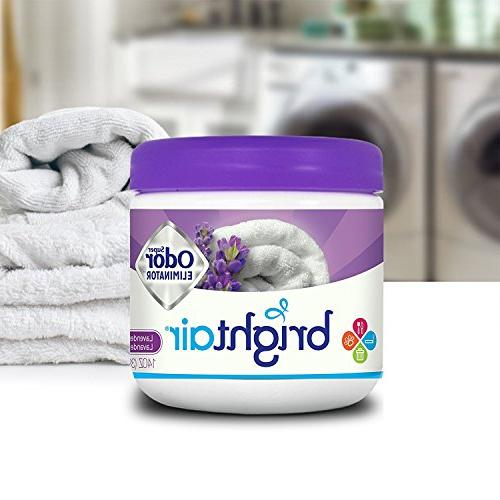 Bright Solid Air Lavender and Fresh Linen Scent, Pack