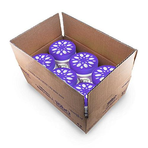 Bright Air Air Freshener and Lavender and Fresh Linen Scent, 14 6 Pack