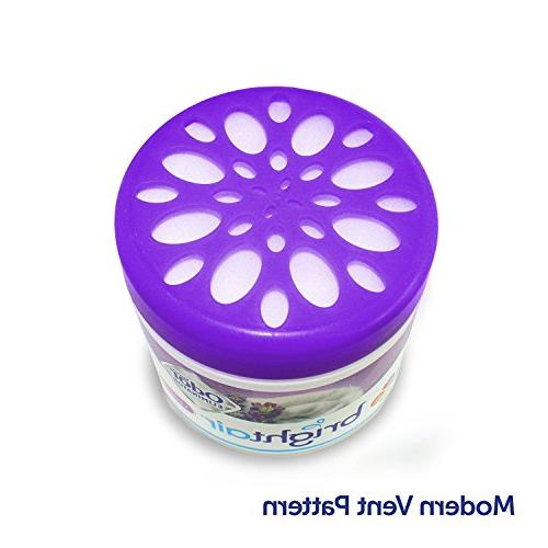 Bright Solid Freshener Odor Lavender and Scent, Pack