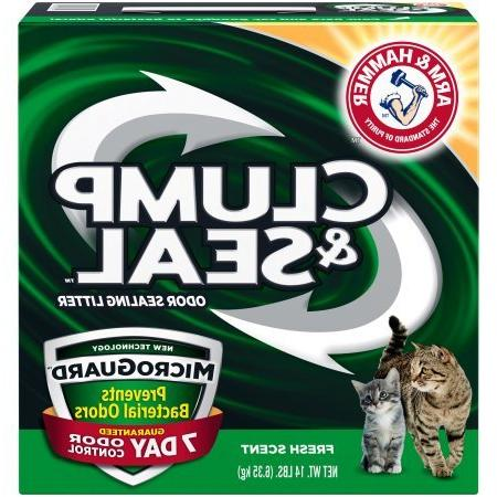 Pack of 4 Arm & Hammer Clump & Seal MicroGuard Cat Litter 14