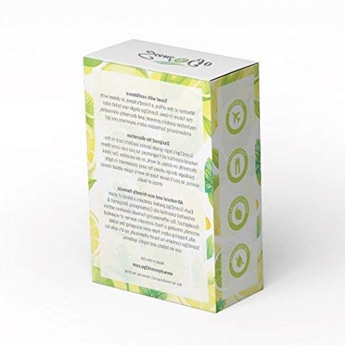 Scent2go Toilet Fragrance Packet, Pocket & Fit, Discreet Freshener, All Natural Odor Mint