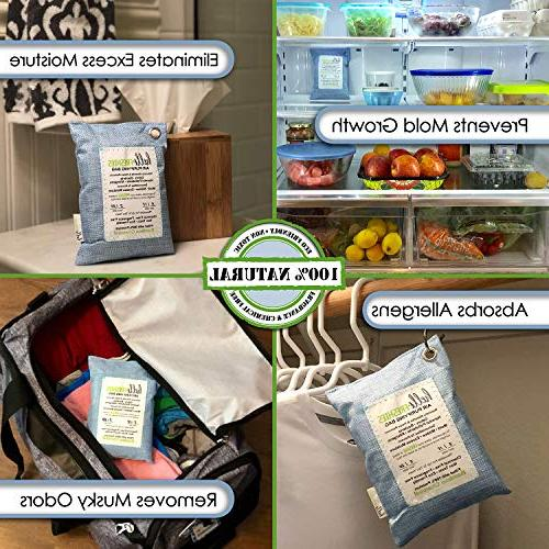 Activated Purifying by Freshies Odor Absorber & Shoe Freshener Home,Cars,Pets,Closets, & More