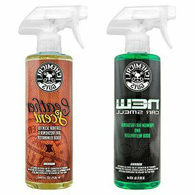 Chemical Guys AIR_300 Car Scent and Leather Scent Combo Pack
