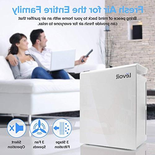 LEVOIT LV-PUR131 for with True HEPA Filter, Large Room, Smokers, Eliminator, Energy Star,