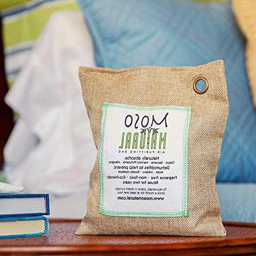 MOSO Bag 600g. Air Eliminator, Odor For Home Natural Color