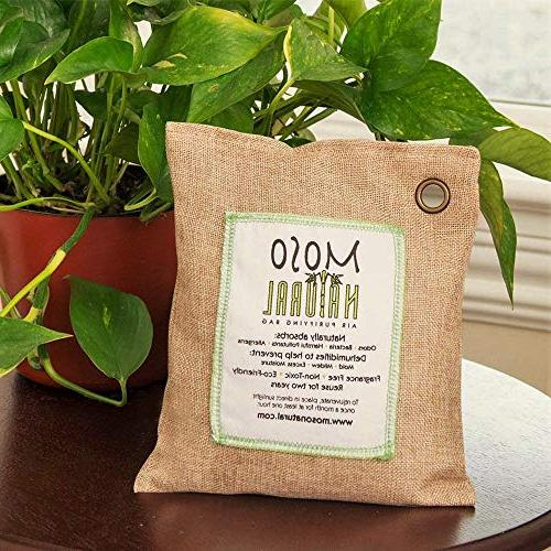 MOSO NATURAL Air Freshener, Deodorizer, Eliminator, Odor Home and Color