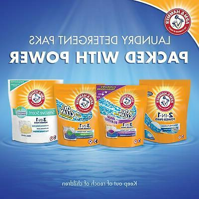 Arm & 2IN1 Laundry Detergent Power Paks, 97 Freshness