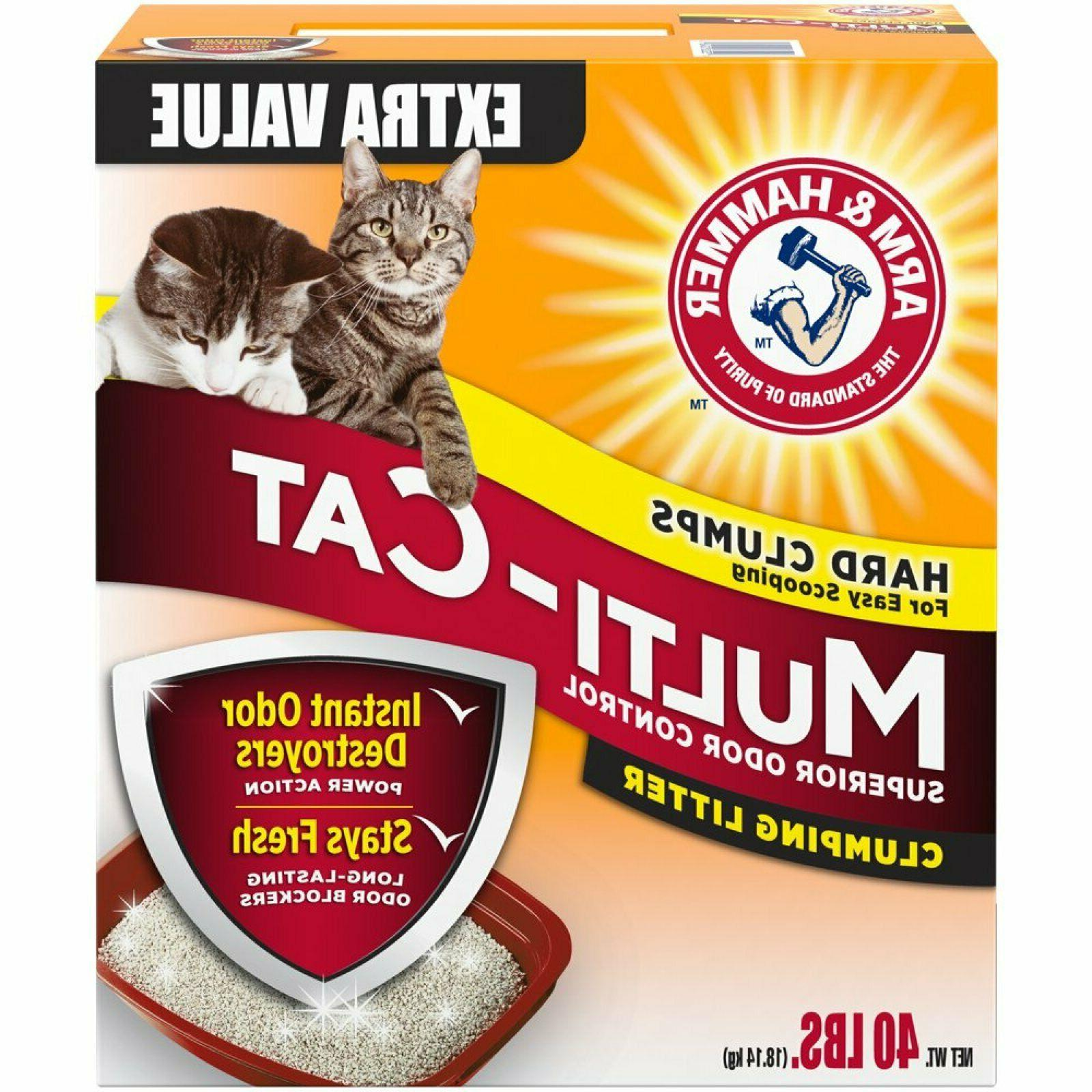 Arm & Hammer Multi-Cat Clumping Litter Fresh Scented Superio