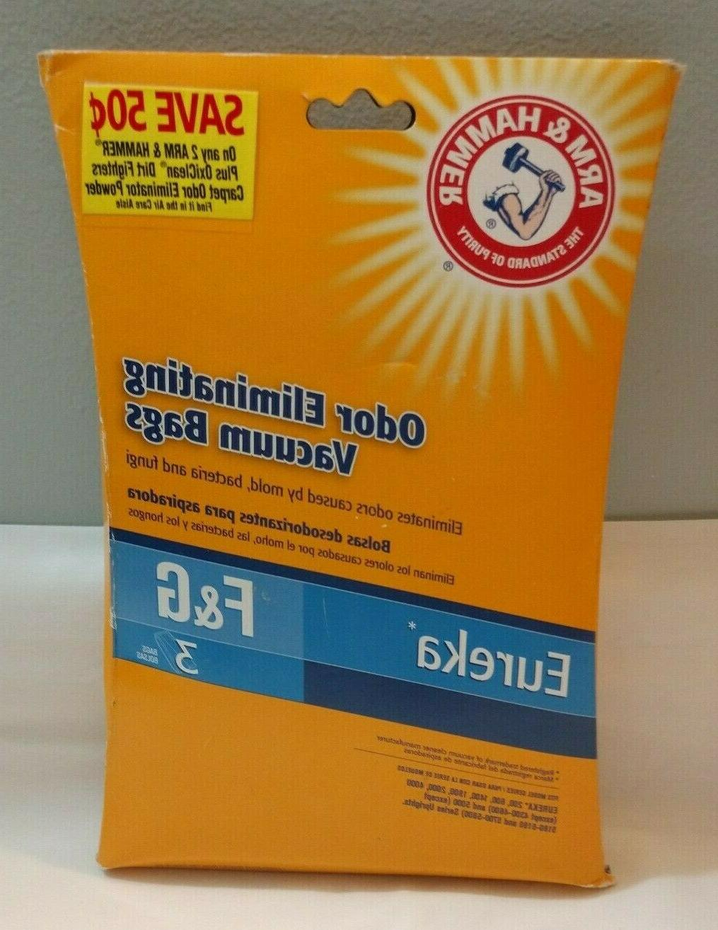 arm and hammer odor eliminating vacuum bags