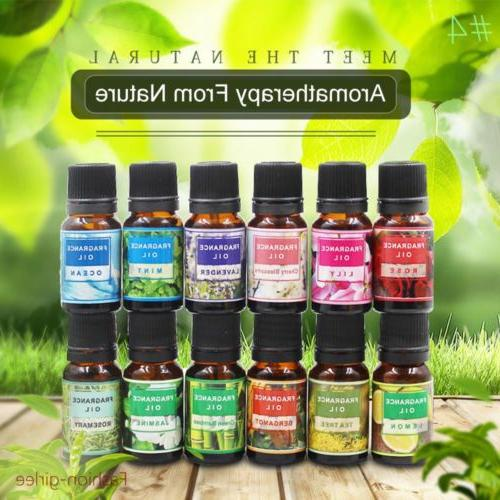 Aromatherapy Message Essential Oils 100% Natural Pure Essent