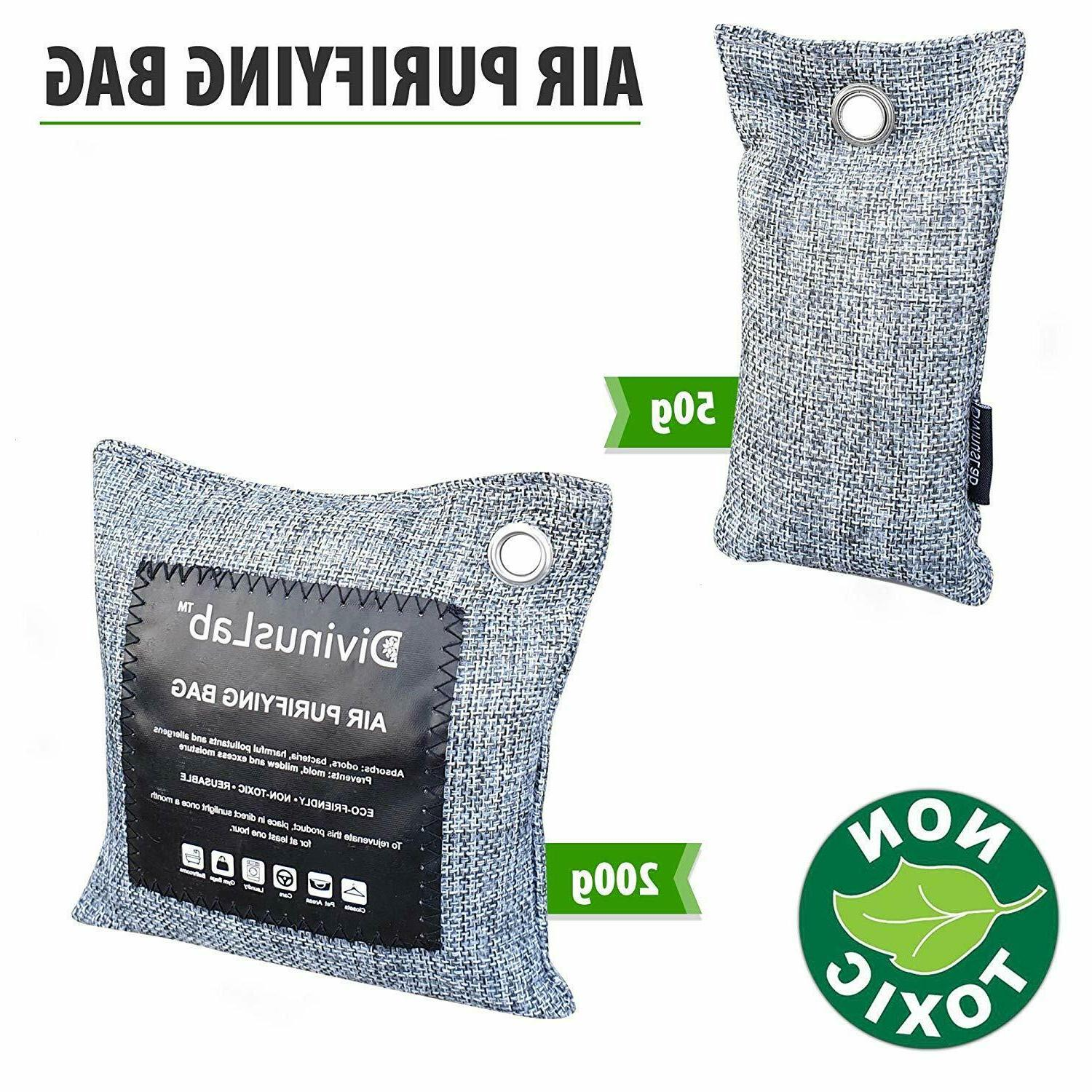 Bamboo Charcoal Air Bags , Activated Odor
