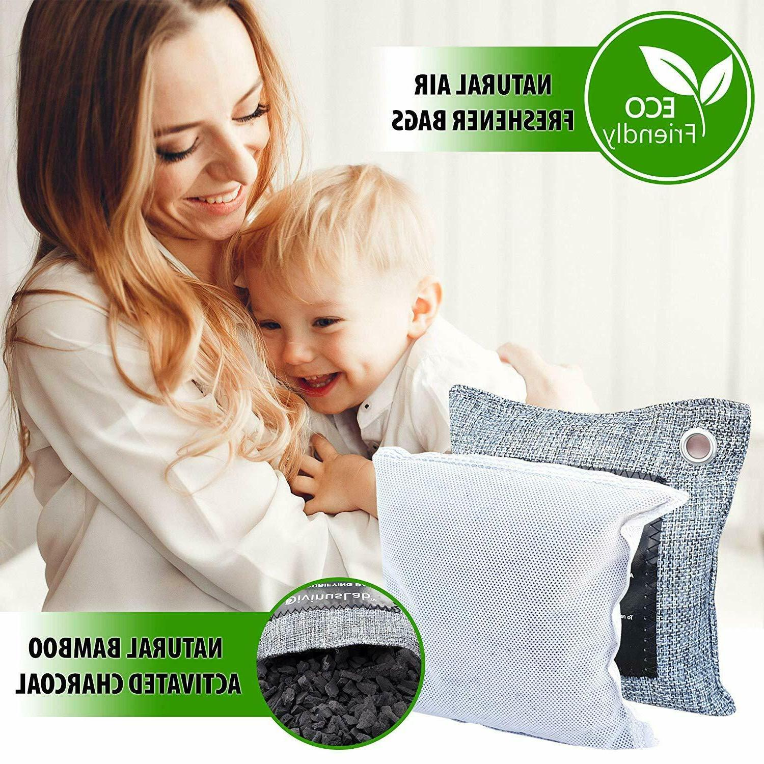 Bamboo Charcoal Air Purifying Bags Odor