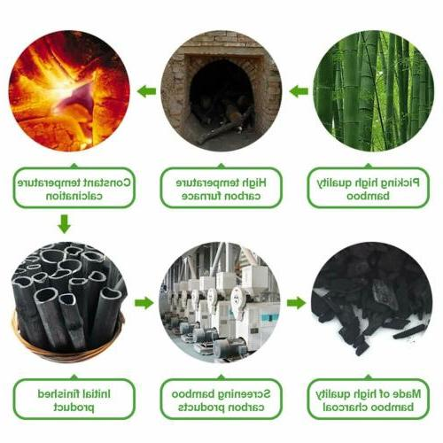 Air Pack Activated Bamboo Charcoal Odor Absorber