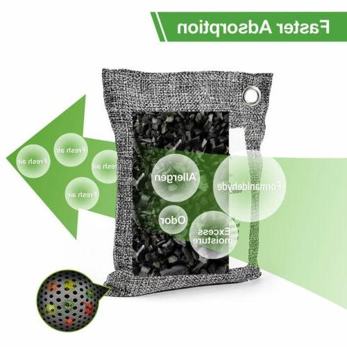Air Purifying Bag Pack Activated Charcoal Odor Absorber
