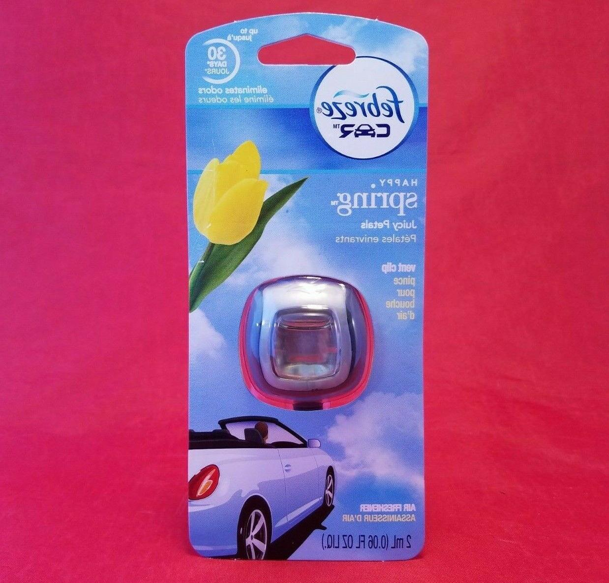 Febreze Car Vent Clip Happy Spring Air Freshener