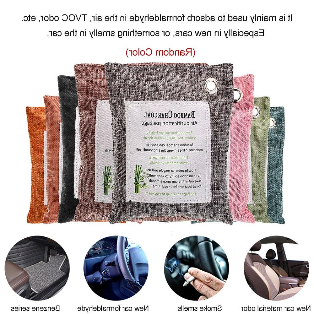 Charcoal Air Purifying Bag <font><b>Eliminator</b></font> Fragrance Chemical Free Absorber