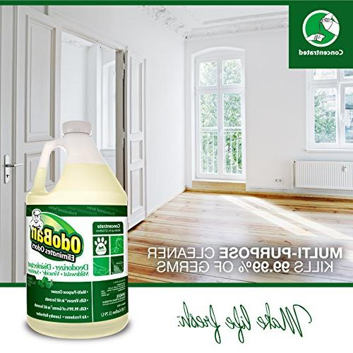 OdoBan Cleaning Odor Control 1 Gal Each Original and Lavender Scents