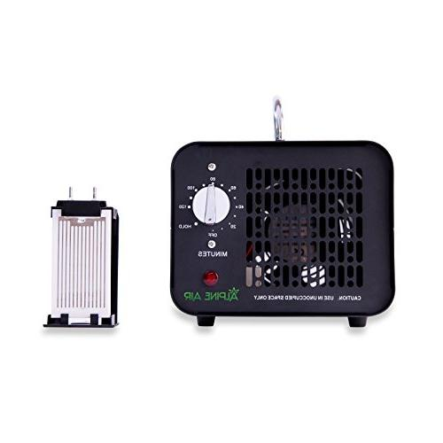 Alpine Air Commercial Ozone Generator – | O3 Purifier, | Cleaner, Deodorizer | Stop