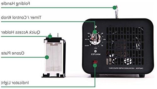 Alpine Commercial Generator – 6000 | Air Purifier, and Ionizer | Heavy | Best for Odor Stop Control