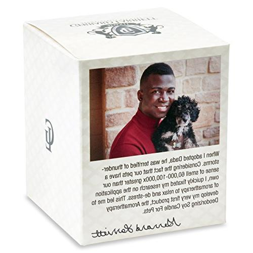 Aromatherapy Soy Candle for Pet Odor Animal