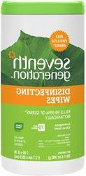 Seventh Generation Disinfecting Multi-Surface Wipes -- 70 Wi