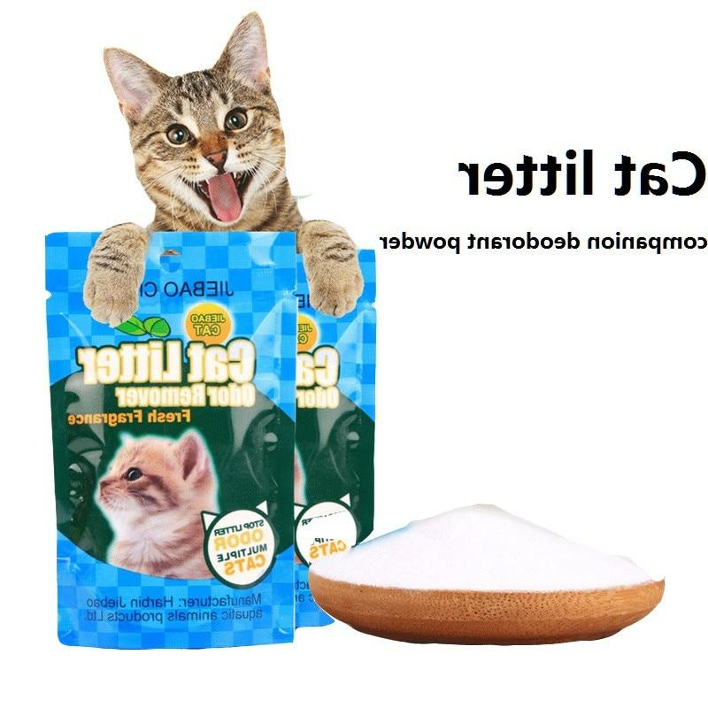 Effective Cat Litter Cat Pot Cleaning Soda <font><b>Eliminat
