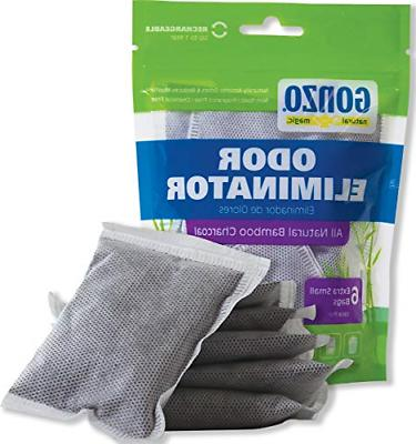 gonzo bamboo charcoal 6 extra small bags