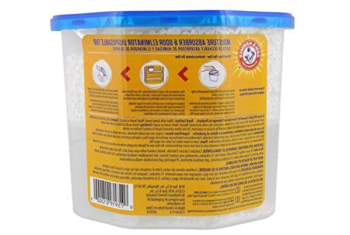 Arm Hammer Absorber & Eliminator 14oz Tub, Pack - Musty Closets, Rooms,