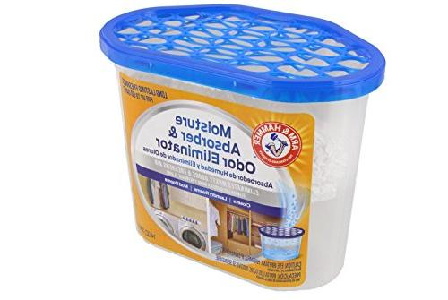 Arm Hammer Absorber & 14oz Tub, Pack - Eliminates Musty & Freshens Closets, Rooms,